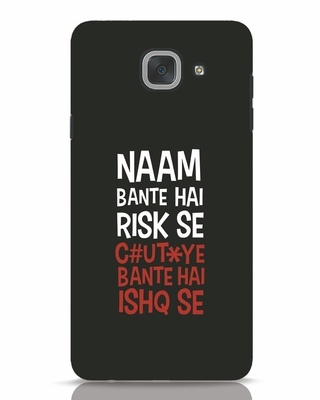Shop Risky Ishq Samsung Galaxy J7 Max Mobile Cover-Front