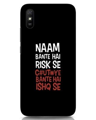 Shop Risky Ishq Xiaomi Redmi 9A Mobile Cover-Front