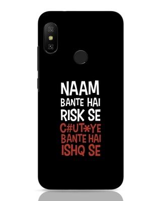 Shop Risky Ishq Xiaomi Redmi Note 6 Pro Mobile Cover-Front