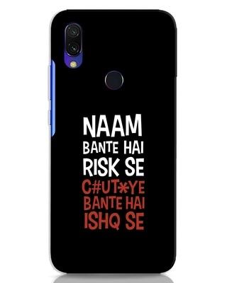 Shop Risky Ishq Xiaomi Redmi Y3 Mobile Cover-Front
