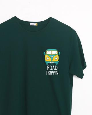Shop Road Trippin Van Half Sleeve T-Shirt-Front