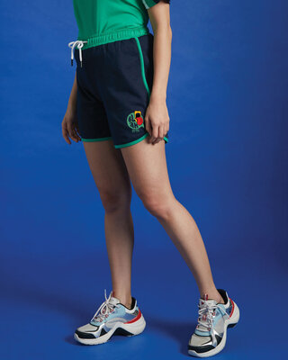 Shop Rolling Tongue Runner Shorts-Front