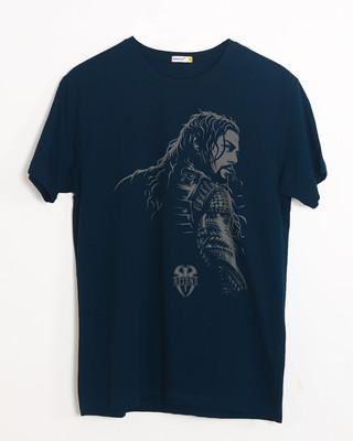 Shop Roman Half Sleeve T-Shirt (WWEL)-Front