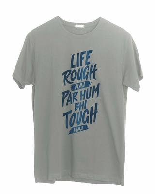 Shop Rough Half Sleeve T-Shirt-Front