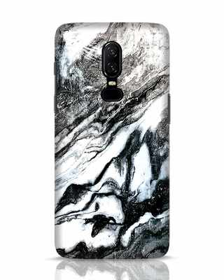 Shop Rugged Marble OnePlus 6 Mobile Cover-Front