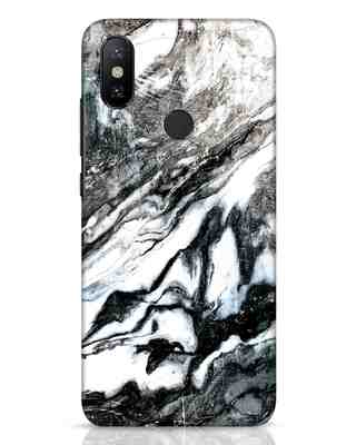 Shop Rugged Marble Xiaomi Mi A2 Mobile Cover-Front