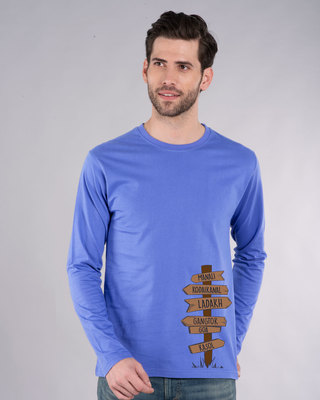 Shop Safarnama Full Sleeve T-Shirt-Front