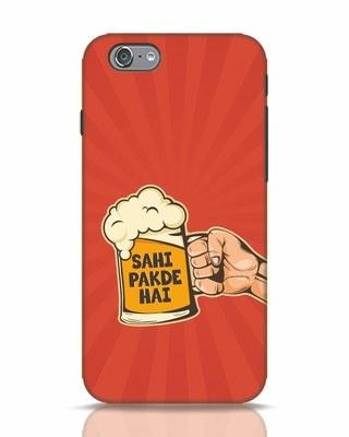 Shop Sahi Pakde Hai iPhone 6 Mobile Cover-Front