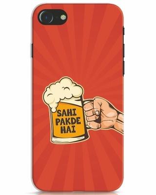 Shop Sahi Pakde Hai iPhone 7 Mobile Cover-Front