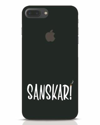 Shop Sanskari iPhone 7 Plus Logo Cut Mobile Cover-Front