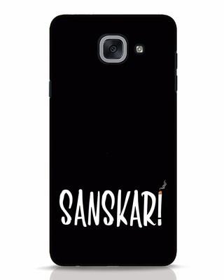 Shop Sanskari Samsung Galaxy J7 Max Mobile Cover-Front