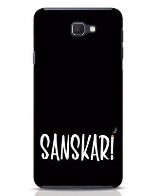 Shop Sanskari Samsung Galaxy J7 Prime Mobile Cover-Front