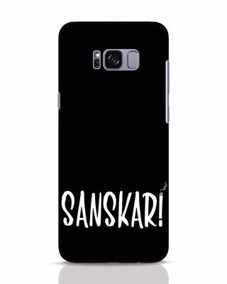 Shop Sanskari Samsung Galaxy S8 Mobile Cover-Front