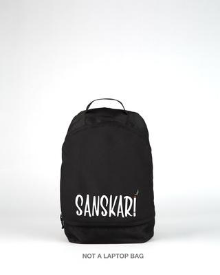 Shop Sanskari Small Backpack-Front
