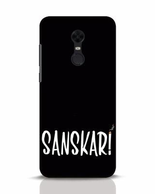 Shop Sanskari Xiaomi Redmi Note 5 Mobile Cover-Front