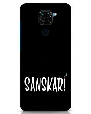 Shop Sanskari Xiaomi Redmi Note 9 Mobile Cover-Front