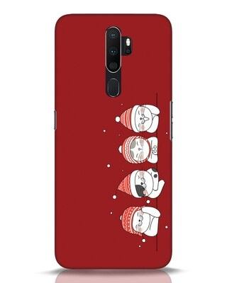 Shop Santa Cats Oppo A5 2020 Mobile Cover-Front