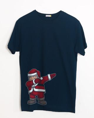 Shop Santa Dab Half Sleeve T-Shirt-Front