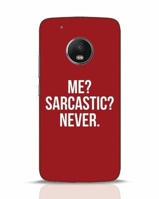 Shop Sarcastic Moto G5 Plus Mobile Cover-Front
