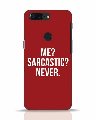 Shop Sarcastic OnePlus 5T Mobile Cover-Front