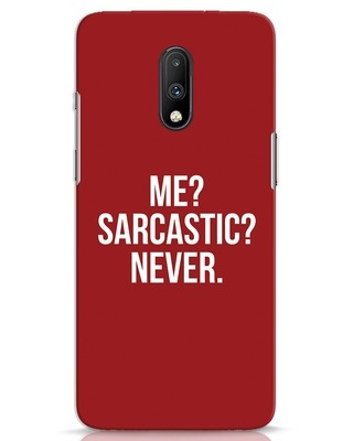 Shop Sarcastic OnePlus 7 Mobile Cover-Front