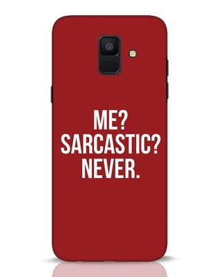 Shop Sarcastic Samsung Galaxy A6 2018 Mobile Cover-Front
