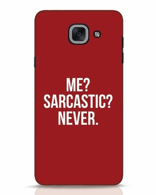 white_stub Shop Sarcastic Samsung Galaxy J7 Max Mobile Cover-Front
