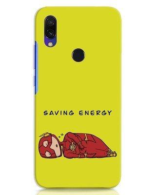 Shop Saving Energy Xiaomi Redmi 7 Mobile Cover-Front