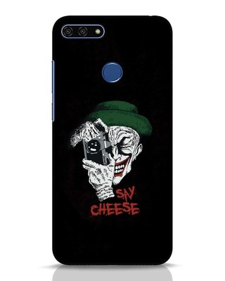Shop Say Cheese Huawei Honor 7A Mobile Cover-Front