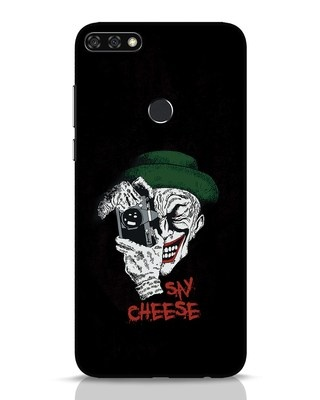 Shop Say Cheese Huawei Honor 7C Mobile Cover-Front