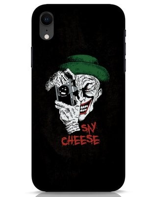 Shop Say Cheese iPhone XR Mobile Cover-Front
