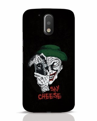 Shop Say Cheese Moto G4 Plus Mobile Cover-Front
