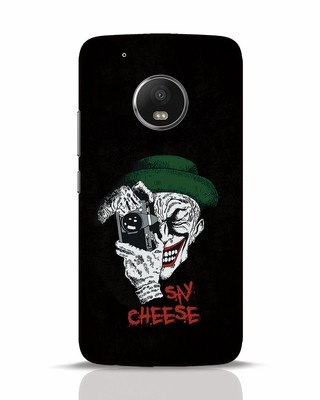 Shop Say Cheese Moto G5 Plus Mobile Cover-Front