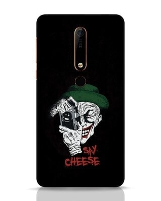 Shop Say Cheese Nokia 6.1 Mobile Cover-Front