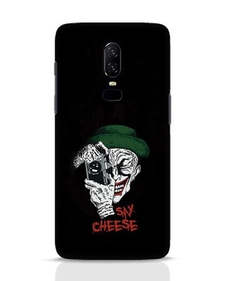 Shop Say Cheese OnePlus 6 Mobile Cover-Front