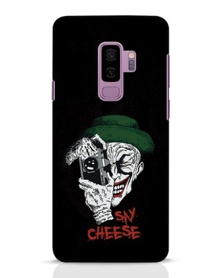 Shop Say Cheese Samsung Galaxy S9 Plus Mobile Cover-Front