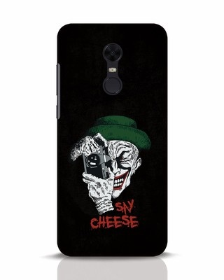 Shop Say Cheese Xiaomi Redmi Note 5 Mobile Cover-Front