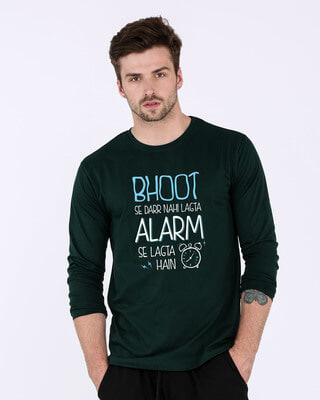 Buy Scary Alarm Full Sleeve T-Shirt Online India @ Bewakoof.com