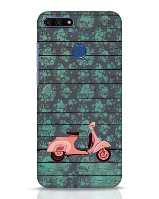 Shop Scooty Huawei Honor 7A Mobile Cover-Front