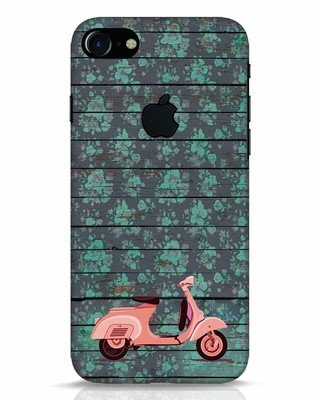 Shop Scooty iPhone 7 Logo Cut Mobile Cover-Front