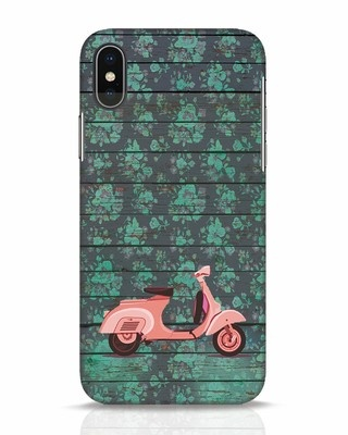 Shop Scooty iPhone X Mobile Cover-Front