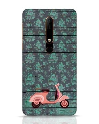 Shop Scooty Nokia 6.1 Mobile Cover-Front