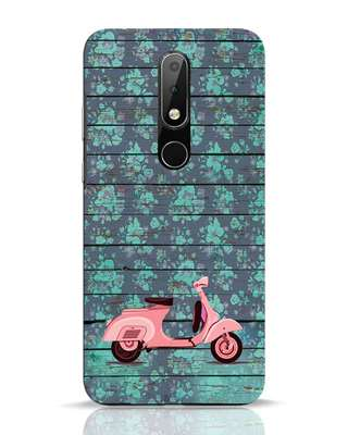 Shop Scooty Nokia 6.1 Plus Mobile Cover-Front