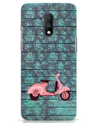 Shop Scooty OnePlus 7 Mobile Cover-Front