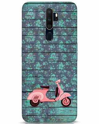 Shop Scooty Oppo A9 2020 Mobile Cover-Front