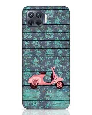Shop Scooty Oppo F17 Pro Mobile Cover-Front