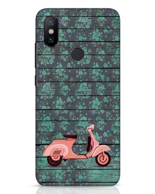 Shop Scooty Xiaomi Mi A2 Mobile Cover-Front