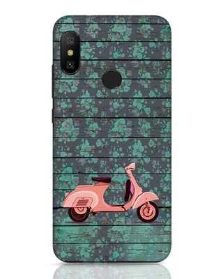 Shop Scooty Xiaomi Redmi 6 Pro Mobile Cover-Front