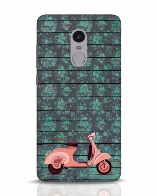 Shop Scooty Xiaomi Redmi Note 4 Mobile Cover-Front