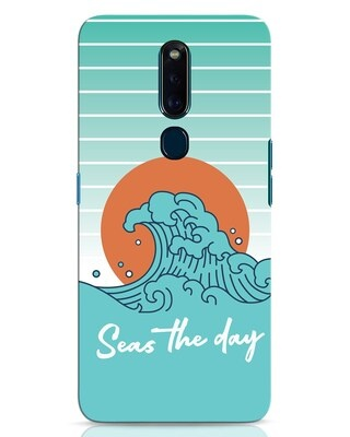 Shop Seas The Day Oppo F11 Pro Mobile Cover-Front